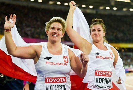 Anita Włodarczyk, Malwina Kopron