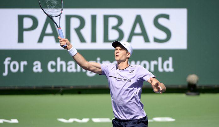 Roger Federer wygrał z Hubertem Hurkaczem w ćwierćfinale Indian Wells