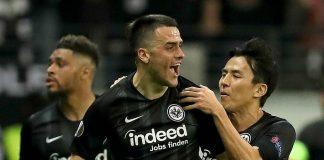 Eintracht pokonał Benficę 2:0 i awansował do półfinału LE