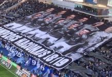 Fani portugalskiej drużyny postanowili przygotować na ostatnią kolejkę ligi kontrowersyjną oprawę. Niedługo potem wybuchł skandal z jej powodu.