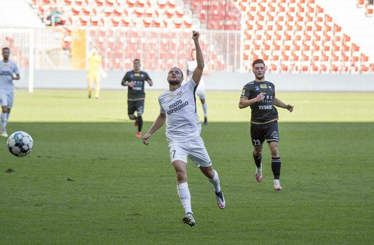 Fortuna 1 Liga: GKS Tychy - Puszcza Niepołomice 1:1