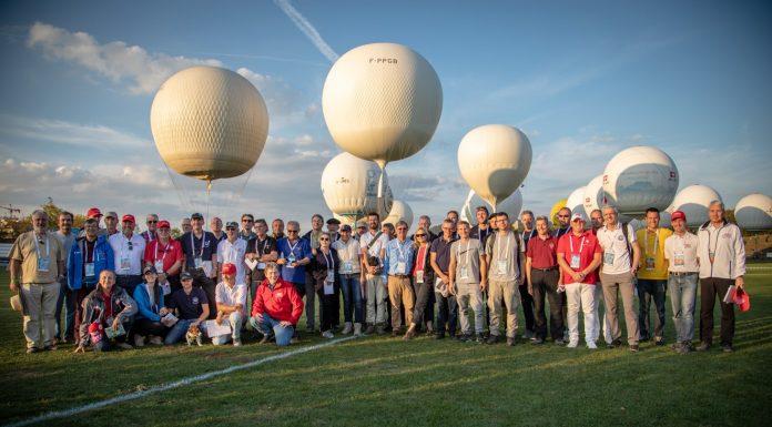 Zawody balonowe - piloci