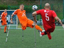 Amp Futbol Ekstraklasa: Kuloodporni Bielsko-Biała - Gryf Szczecin (2016)